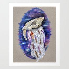 """""""Saber-toothed Princess"""" Art Print"""