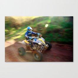 ATV offroad racing Canvas Print