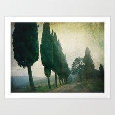 Toscana Vintage I Art Print
