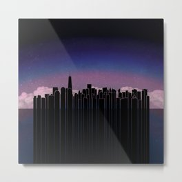 New York Dreaming Metal Print