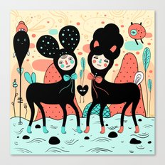Love • Love Canvas Print