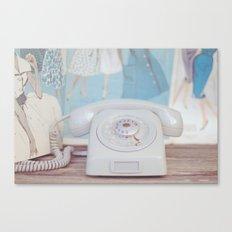 Ring Ring Canvas Print
