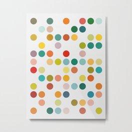 Colored composition V Metal Print