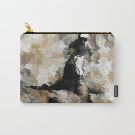 Down and Dirty! - Motocross Racer Carry-All Pouch