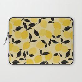 Seamless Citrus Pattern / Lemons Laptop Sleeve