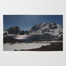 Buddhist Mountain Lakes of Langtang Rug