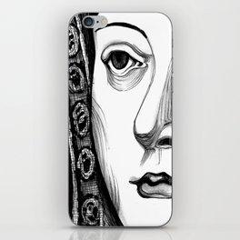 Queen Katherine of Aragon Portrait  iPhone Skin
