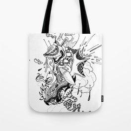 Ink Entanglement Tote Bag