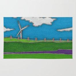 Windmill by Mali Vargas Rug