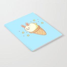 Bunny-lla Ice Cream Notebook