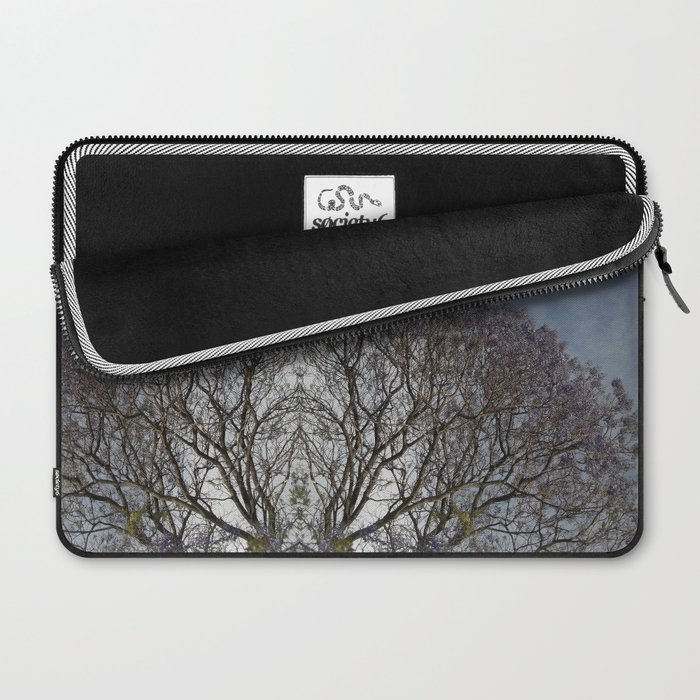 Spring sky and tree Laptop Sleeve