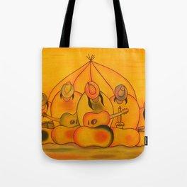 Jellybean Band Tote Bag
