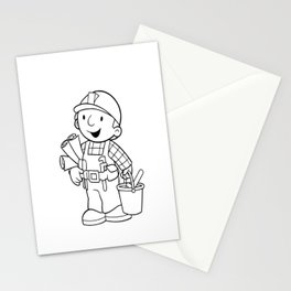 Bob The Builder Stationery Cards