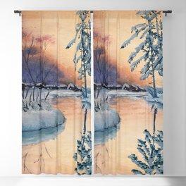 Russian Winter Blackout Curtain