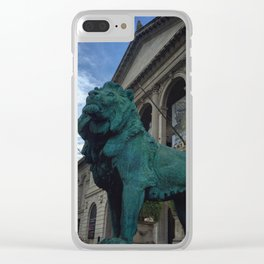 Chicago Guards Clear iPhone Case