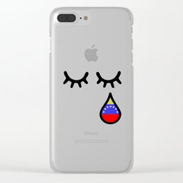 Oscar Perez Hero Venezuela Clear iPhone Case