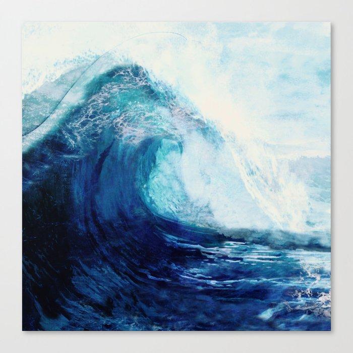 Waves II Leinwanddruck