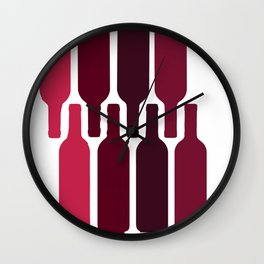 wine all hours Wall Clock