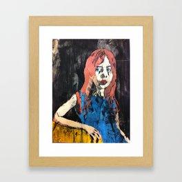 what a drag Framed Art Print
