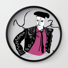 Torero Wall Clock