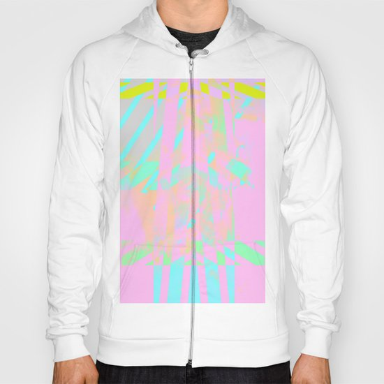 Clouds Mingle with Lines 5 Hoody