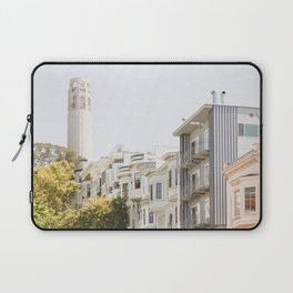 Coit Tower - San Francisco Photography Laptop Sleeve