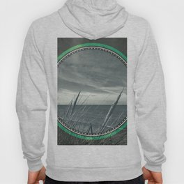 Before the storm - green circle Hoody