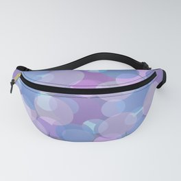 Pastel Pink and Blue Balls Fanny Pack
