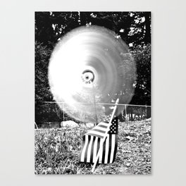 Whirling whirligig Canvas Print