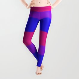 Bisexual Pride Flag v2 Leggings