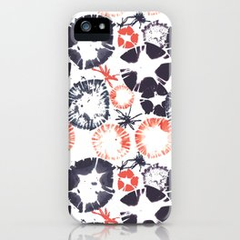 Hawaiian Print [white] iPhone Case