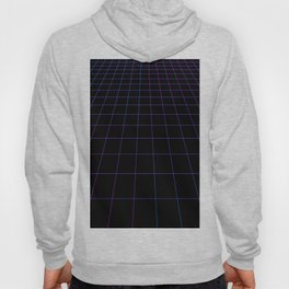 Simple Synthwave Grids Hoody