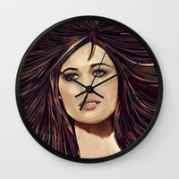passion Wall Clocks featuring Passion by Balazs Pakozdi