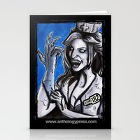 blink 182 Stationery Cards featuring Don't Blink-182 by ZACKSPLOITATION! Art by Zack Morrissette
