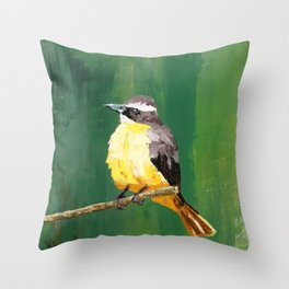 Chirping Charlie Throw Pillow