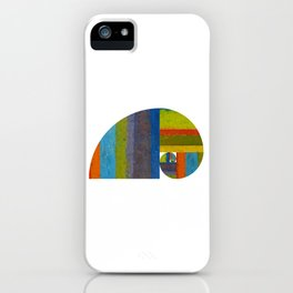Golden Spiral Study iPhone Case