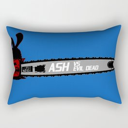 ASH VS EVIL DEAD II Rectangular Pillow