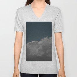 Cloudy blue Unisex V-Neck