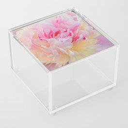 Joy of a Peony by Teresa Thompson Acrylic Box