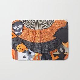 Halloween Swag Bath Mat