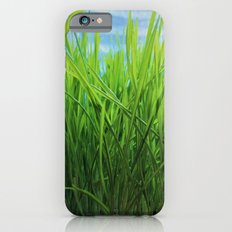 Wheat Grass in Motion Slim Case iPhone 6s