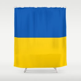 Ukraine National Flag Shower Curtain