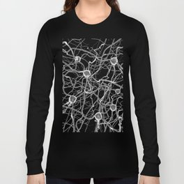 You Get on My Nerves! / 3D render of nerve cells Long Sleeve T-shirt