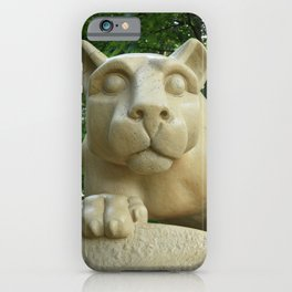Nittany Lion Shrine Color Print iPhone Case