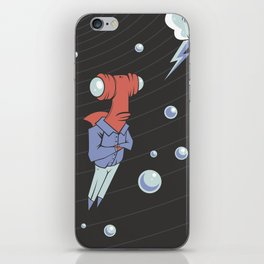 Sharkbait: A Journey Through Time and Space iPhone Skin