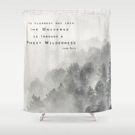 """""""Forest Wilderness"""" Shower Curtain"""