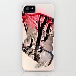 neon hands up iPhone Case