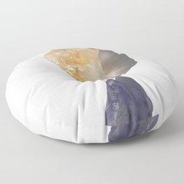 Healing and Serenity - Crystals, Rose Quartz, Amethyst, Quartz Floor Pillow