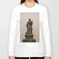 prague Long Sleeve T-shirts featuring PRAGUE by ALX RUTECKI