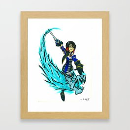 The Bloodstained Rise of Miriam Framed Art Print